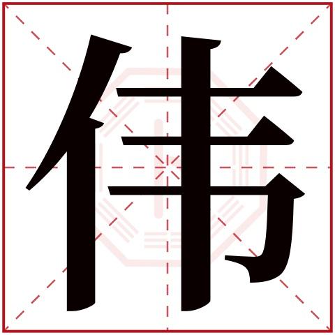 伟字五行属什么,伟字在名字里的含义,伟字起名的寓意