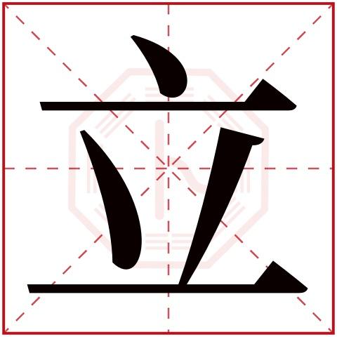立字五行属什么,立字在名字里的含义,立字起名的寓意