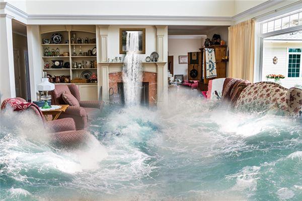 家里漏水寓意