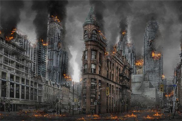 梦见大楼倒塌有何寓意